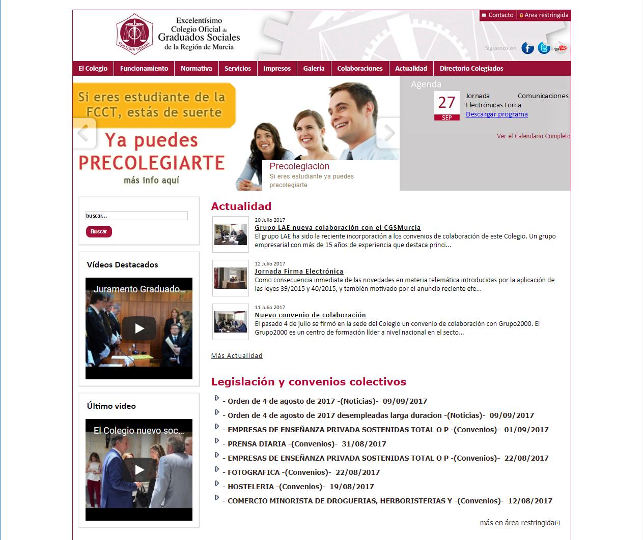 Colegio de Graduados Sociales de la Región de Murcia